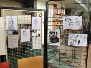 6 - Expo Talents d'élèves au CDI